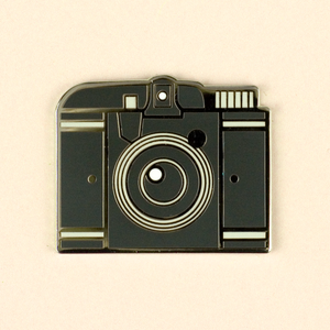 Vintage Cameras - Beacon II Pin - Flea Circus Designs