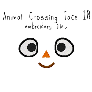Animal Crossing Face 10 - Flea Circus Designs