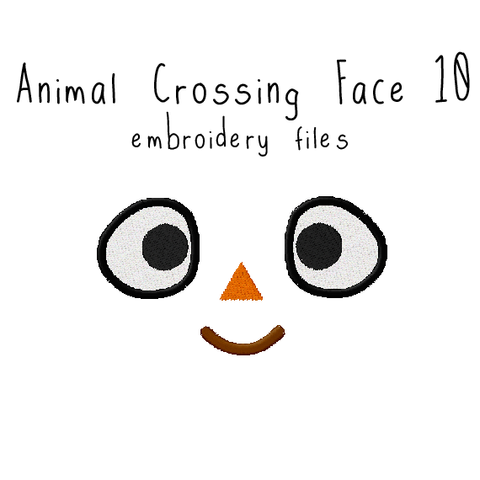 Animal Crossing Face 10