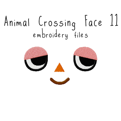 Animal Crossing Face 11 - Flea Circus Designs