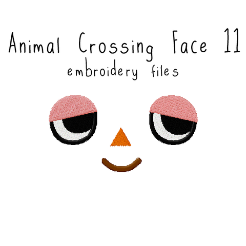 Animal Crossing Face 11