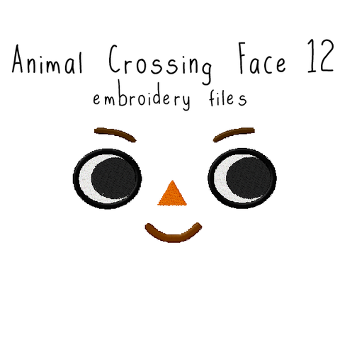Animal Crossing Face 12