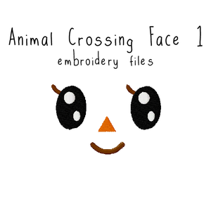 Animal Crossing Face 1 - Flea Circus Designs