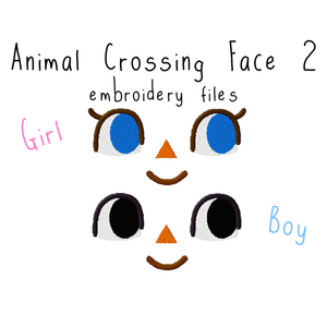 Animal Crossing Face 2 - Flea Circus Designs