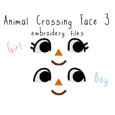 Animal Crossing Face 3 - Flea Circus Designs