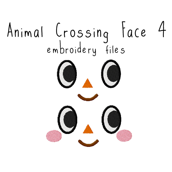 Animal Crossing Face 4 - Flea Circus Designs