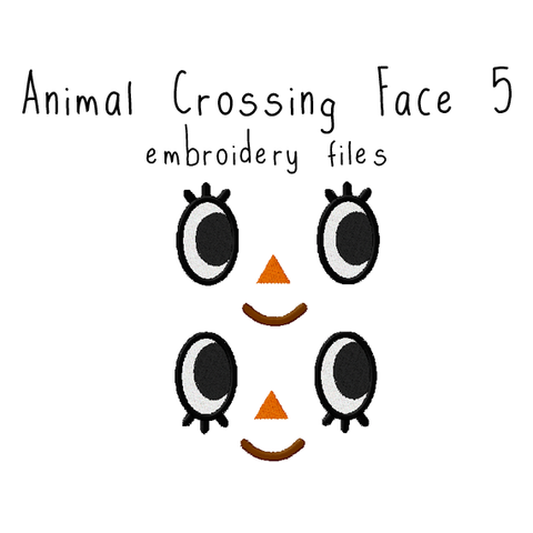 Animal Crossing Face 5 - Flea Circus Designs