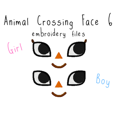 Animal Crossing Face 6 - Flea Circus Designs