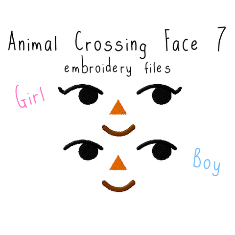 Animal Crossing Face 7 - Flea Circus Designs