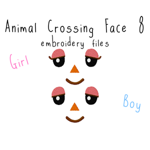 Animal Crossing Face 8 - Flea Circus Designs