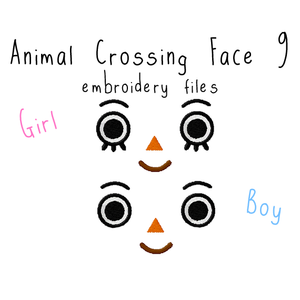 Animal Crossing Face 9 - Flea Circus Designs