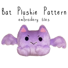 ITH Bat Plushie (in-the-hoop) - Flea Circus Designs