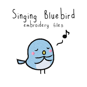 Singing Bluebird - Flea Circus Designs
