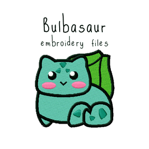 Bulbasaur - Flea Circus Designs