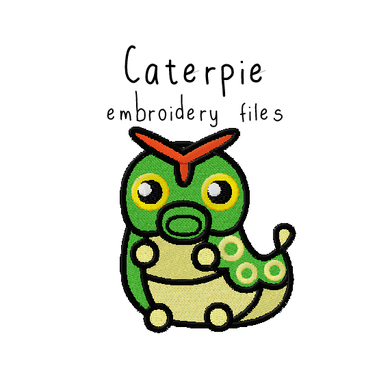 Caterpie - Flea Circus Designs