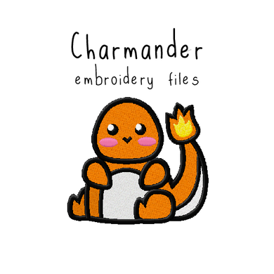 Charmander - Flea Circus Designs