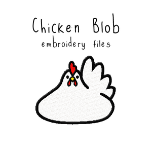 Chicken Blob - Flea Circus Designs