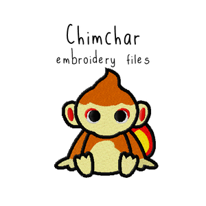 Chimchar - Flea Circus Designs