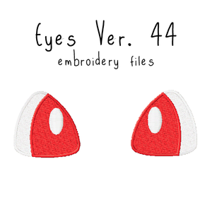 Anime Plushie Eyes Ver. 44 - Flea Circus Designs