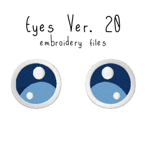 Anime Plushie Eyes Ver. 20 - Flea Circus Designs