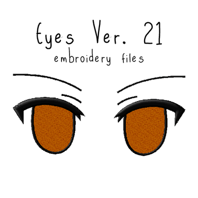 Anime Plushie Eyes Ver. 21 - Flea Circus Designs