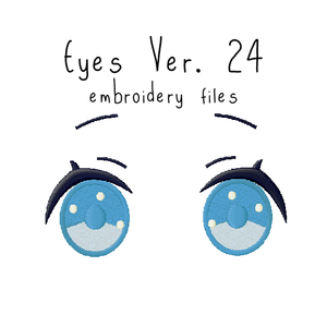 Anime Plushie Eyes Ver. 24 - Flea Circus Designs