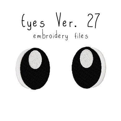 Anime Plushie Eyes Ver. 27 - Flea Circus Designs