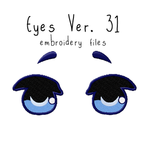 Anime Plushie Eyes Ver. 31 - Flea Circus Designs