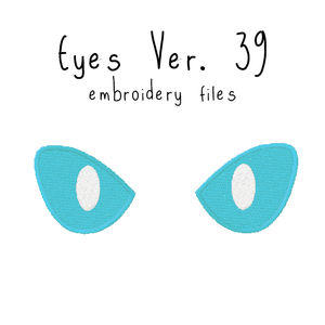 Anime Plushie Eyes Ver. 39 - Flea Circus Designs