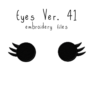 Anime Plushie Eyes Ver. 41 - Flea Circus Designs