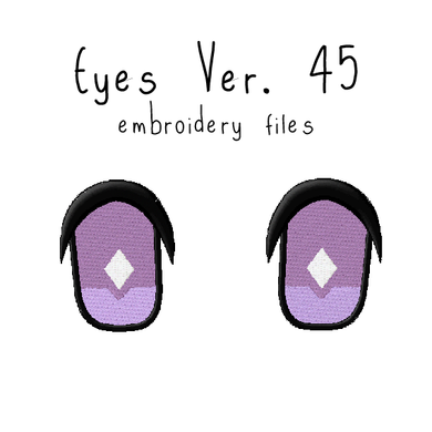 Anime Plushie Eyes Ver. 45 - Flea Circus Designs