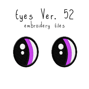 Anime Plushie Eyes Ver. 52 - Flea Circus Designs