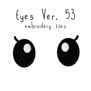 Anime Plushie Eyes Ver. 53 - Flea Circus Designs