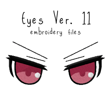 Anime Plushie Eyes Ver. 11 - Flea Circus Designs