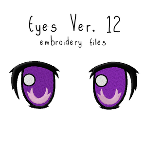 Anime Plushie Eyes Ver. 12 - Flea Circus Designs