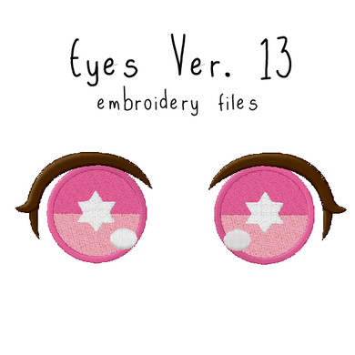 Anime Plushie Eyes Ver. 13 - Flea Circus Designs