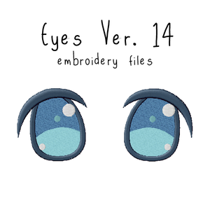 Anime Plushie Eyes Ver. 14 - Flea Circus Designs