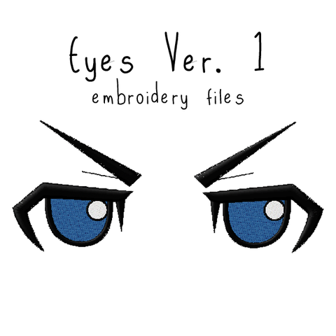Anime Plushie Eyes Ver. 1 - Flea Circus Designs