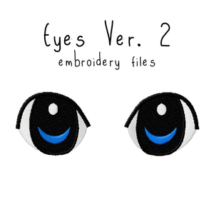 Anime Plushie Eyes Ver. 2 - Flea Circus Designs