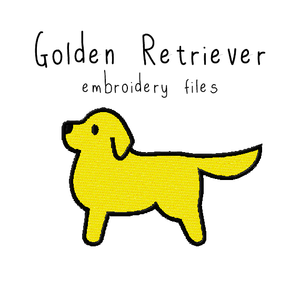 Golden Retriever - Flea Circus Designs
