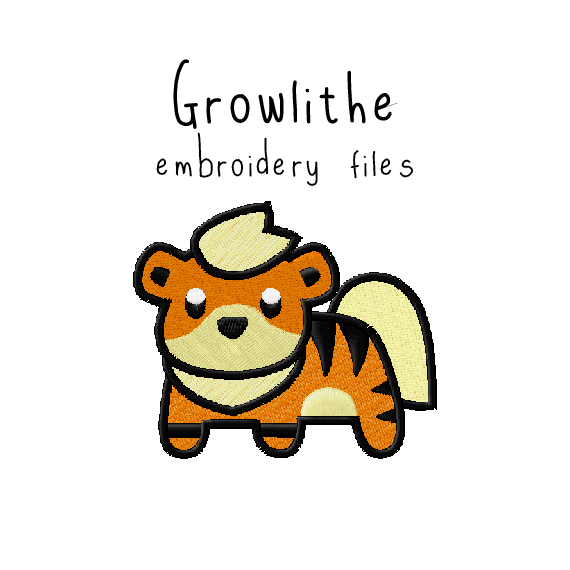 Growlithe - Flea Circus Designs
