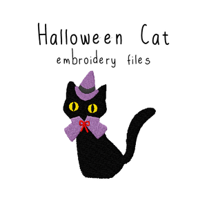 Halloween Cat - Flea Circus Designs