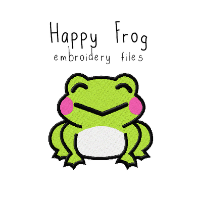 Happy Frog - Flea Circus Designs