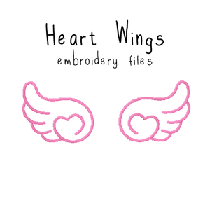 Heart Wings - Flea Circus Designs