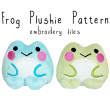 ITH Frog Plushie (in-the-hoop) - Flea Circus Designs