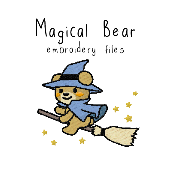 Magical Bear - Flea Circus Designs
