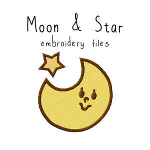 Moon & Star - Flea Circus Designs