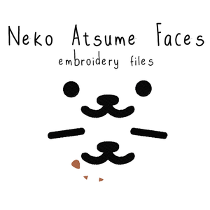 Neko Atsume Faces - Flea Circus Designs