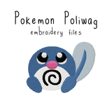 Poliwag (with and without outline) - Flea Circus Designs