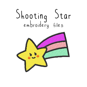 Shooting Star - Flea Circus Designs